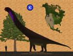 Smaller than a brachiosaurus