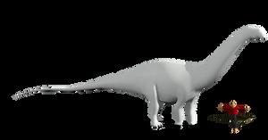 Brontosaurus louisae model 2/15/18