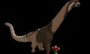 Argentinosaurus by Paleop
