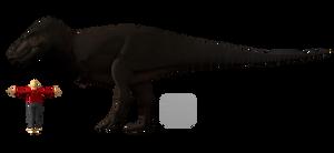 Tyrannosaurus orthrographic