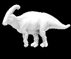 Parasaurolophus multi-res sculpting blender test
