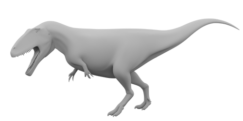 Carcharodontosaurus wip by Paleop