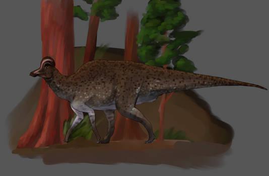 Corythosaurus doodle