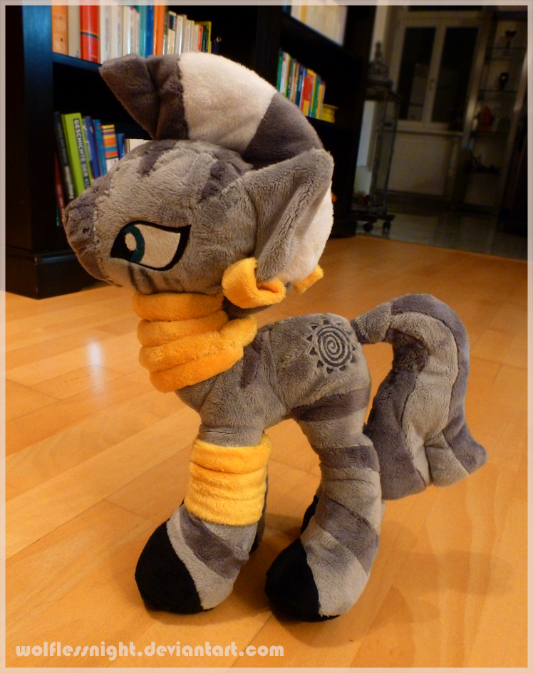 Zecora Plush by Wolflessnight