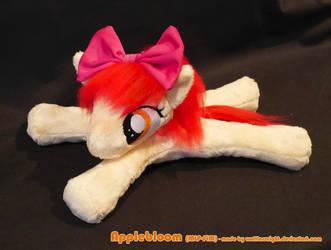Applebloom Beanie Plush by Wolflessnight
