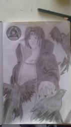 Uchiha Itachi hand drawn by AlexKidd7