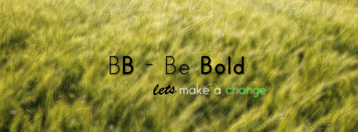 BB - Be Bold Banner