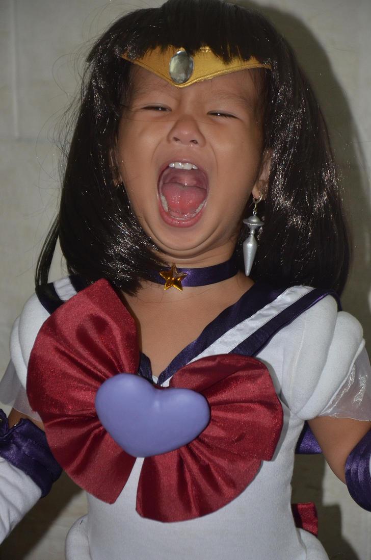 SATURN SCREAMS by prinsesaian