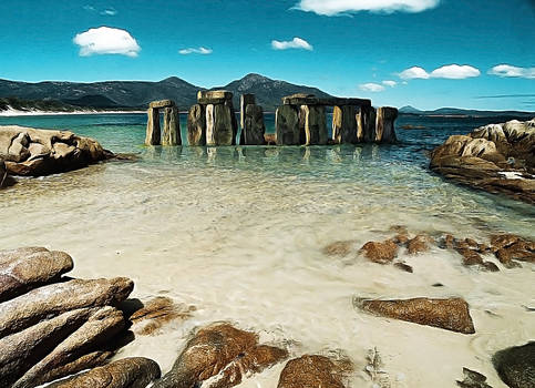 Stonehenge Beach