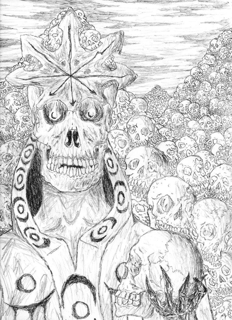 Skulls Skulls Skulls by Zegaroth