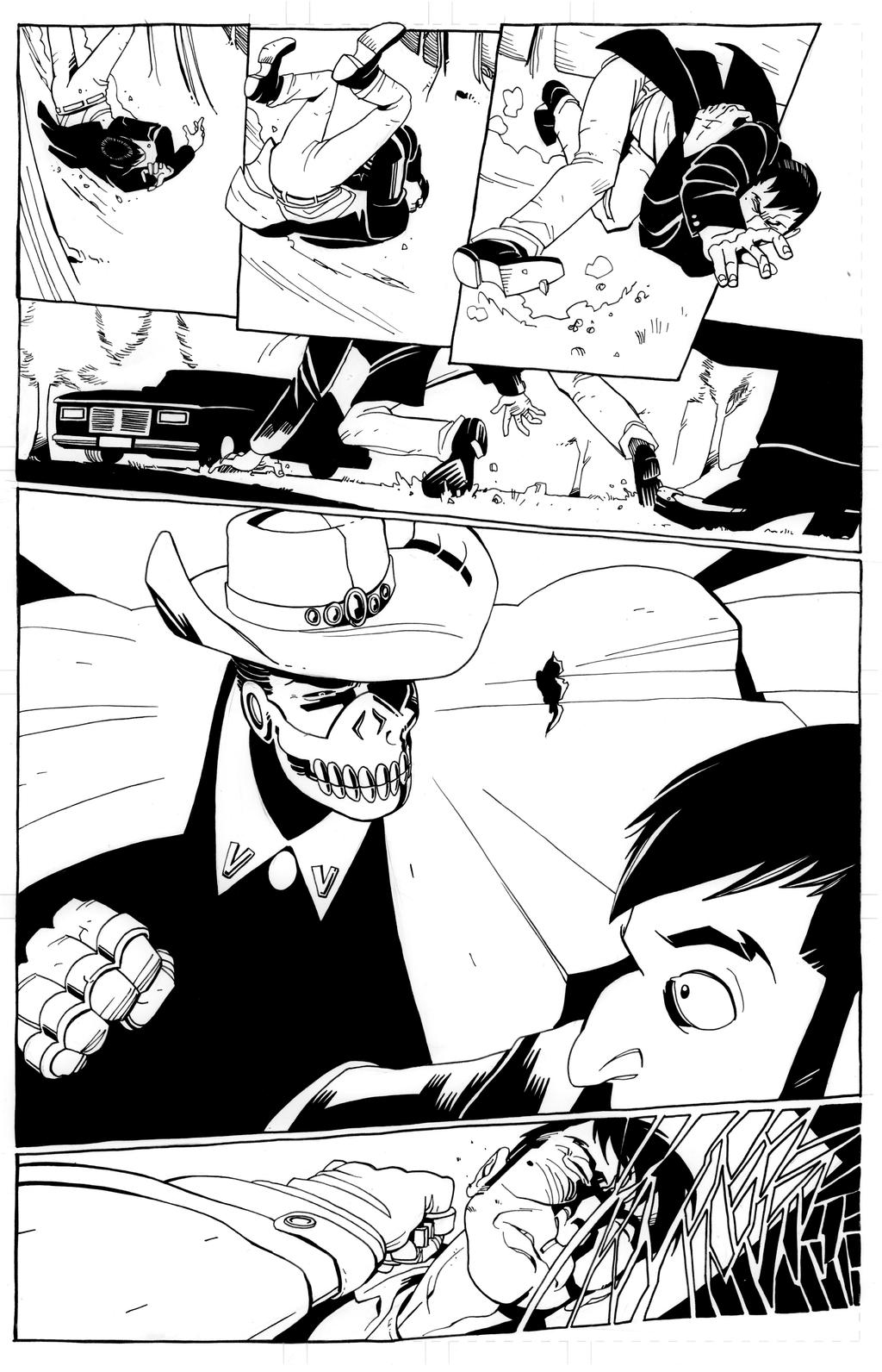 San Hannibal #3 pg 14 -- B+W by dan-sch