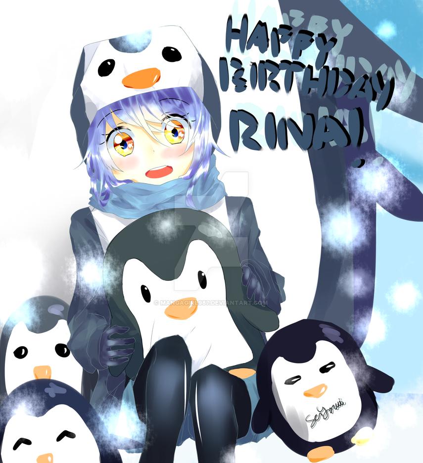 G: HAPPY BIRTHDAY DOKI RINAA by MangaGirl987