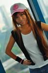 Pokemon BW: Touko - Close-up by ruby-hearts