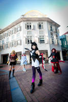 RWBY: Battle Formation 1 by ruby-hearts