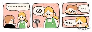 69 by Fingurken