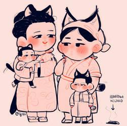 two mamas by Fingurken