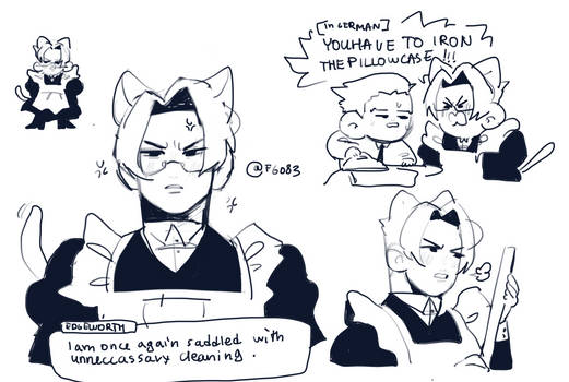 german cat maid