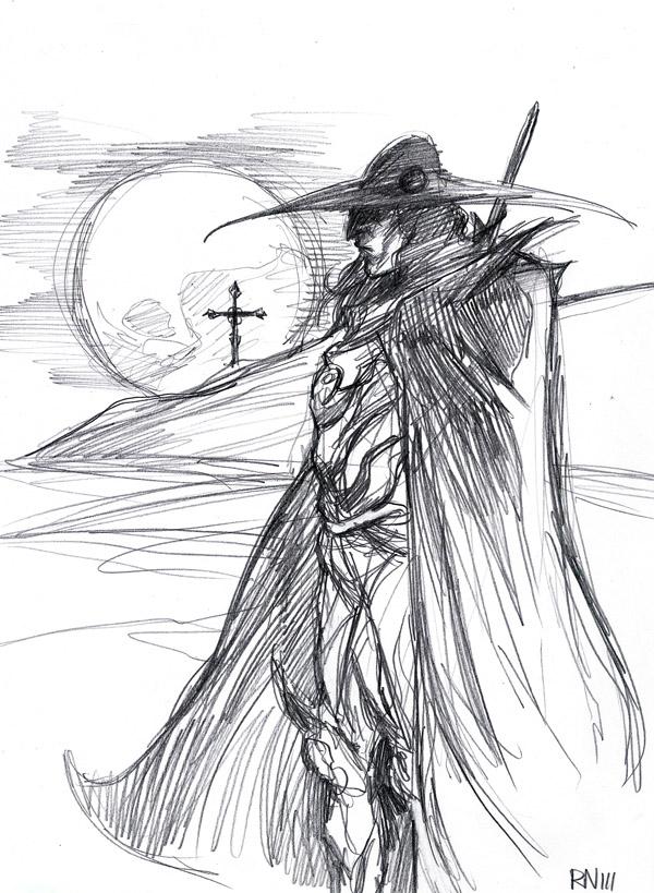 DSC 108 Vampire Hunter D by robthesentinel