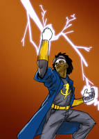 DSC 205 Static Shock by robthesentinel