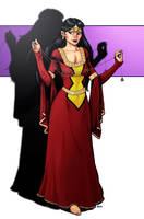 Medieval Spider-Woman by robthesentinel