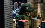 Chibi G Attacks the city