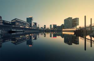 Medienhafen by Rincewind2106