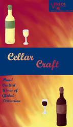 Wine Pamphlet Cover