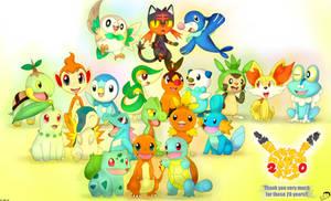 All Starters Pokemon