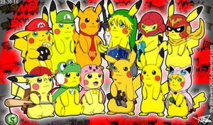 SSB64 Pikachu Version by The3Brawlers2014
