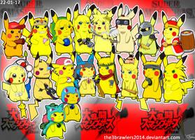 SSBBrawl Pikachu Version by The3Brawlers2014