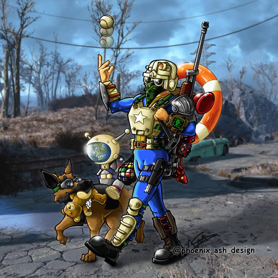 Fallout 3 Fan Art: Fallout 4 Fan Art By Stillustrator On DeviantArt