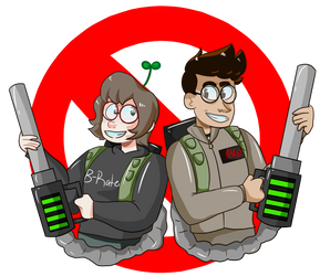 Ghost Busters!!! by RAD-PANCAKES