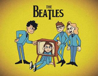Ladies and Gentlemen... The BEATLES!!! by RAD-PANCAKES