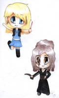 Luna and Bellatrix by 01Kaddy01