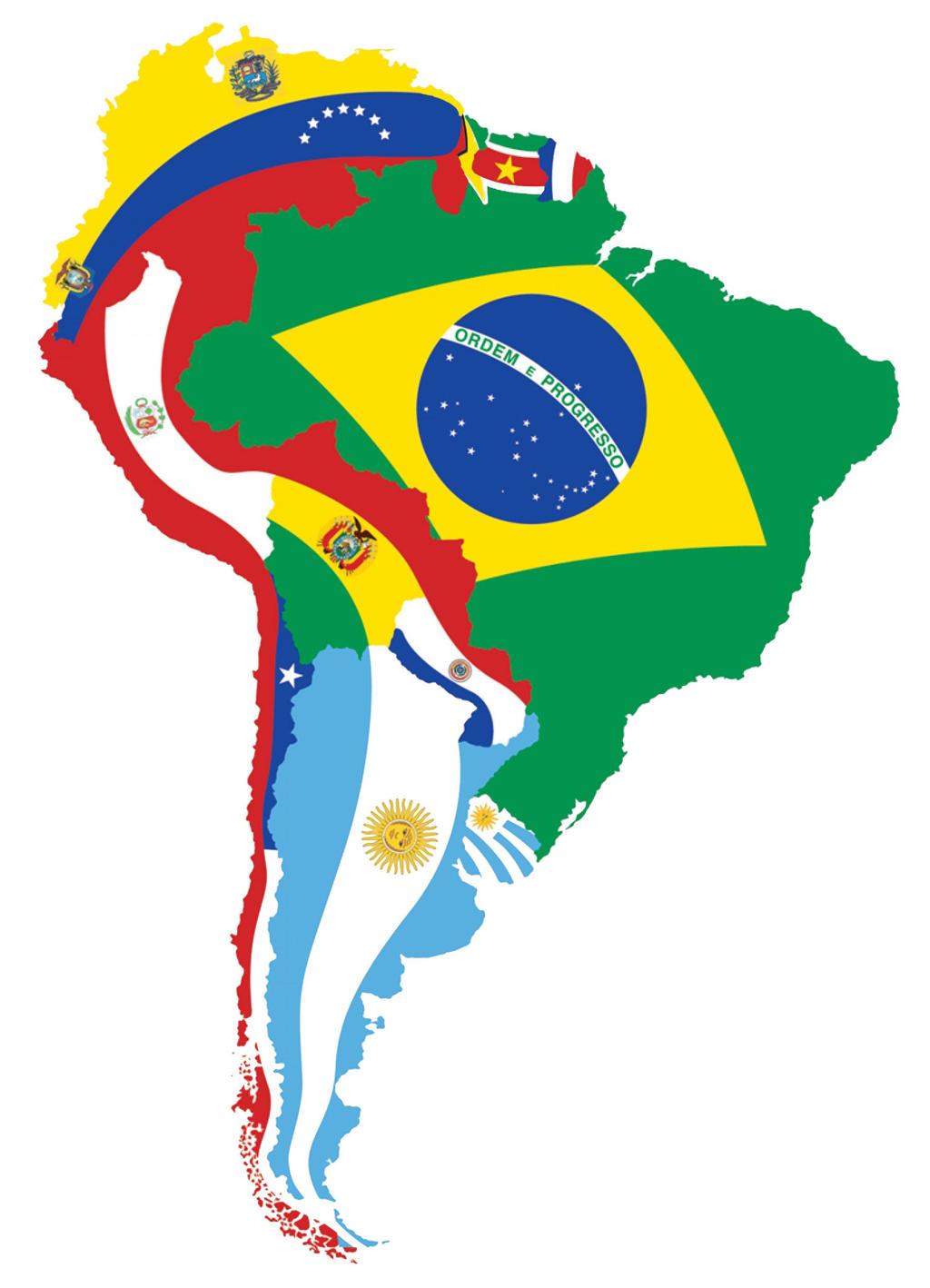 Mapa de America del Sur by xvinchox12