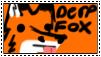 derp fox stamp by DEMON-FOX-96