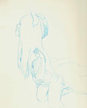 sketch Ahri