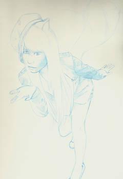 sketch Ahri 2