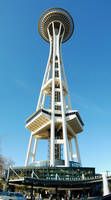 Space Needle at Seattle Center by Frosty-Orca