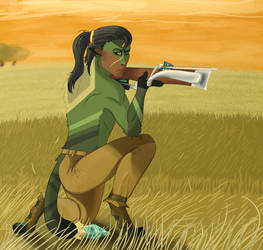 Scatterstar - Sunset Bounty Hunting