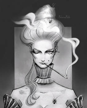 Sketch lady