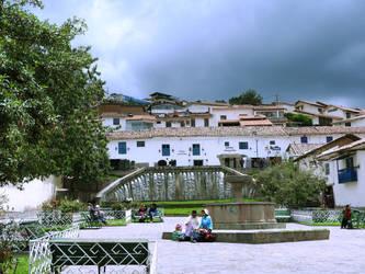 Plaza San Blas - Cuzco . Peru by Moran89