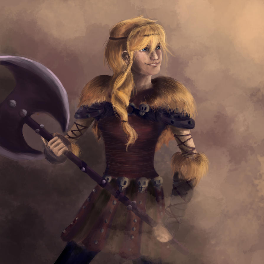Astrid (HTTYD 2) By IgnitingLights On DeviantArt