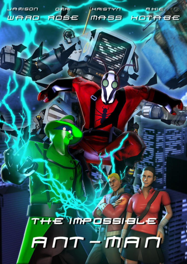The Impossible Ant-Mann Official Poster by superspy6