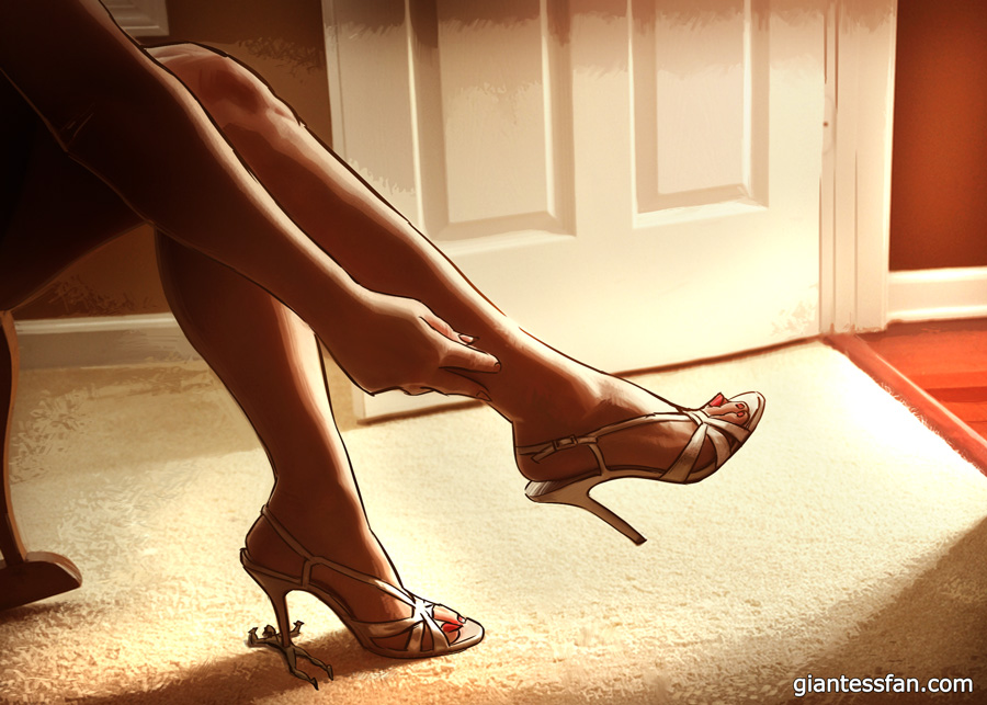 High Heels Crush Hearts by giantess-fan-comics
