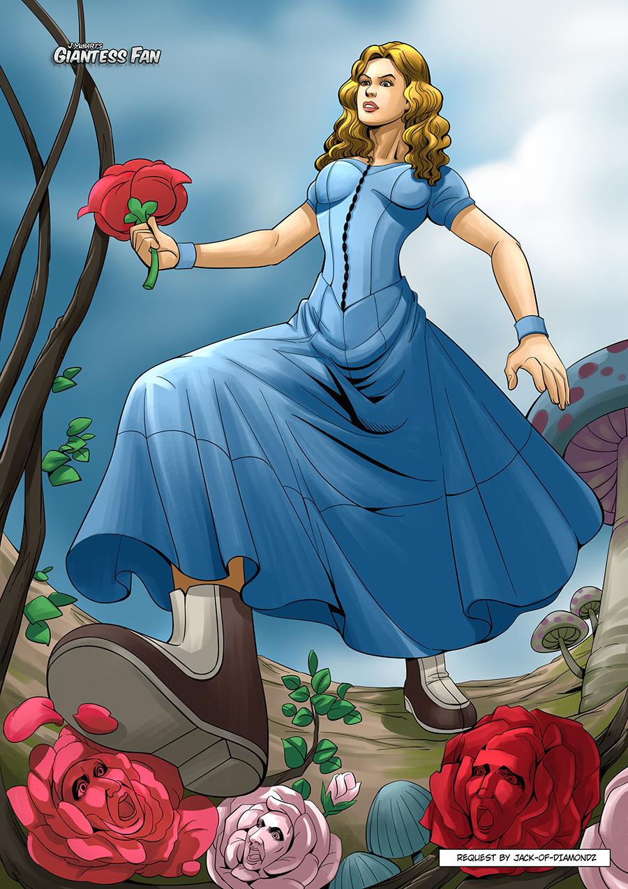 Giantess Alice's Revenge by giantess-fan-comics