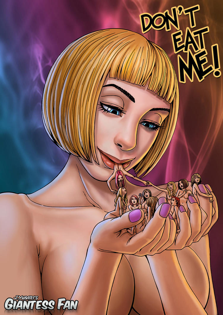 Don't Eat Me! Comic Book - mouth play, vore by giantess-fan-comics
