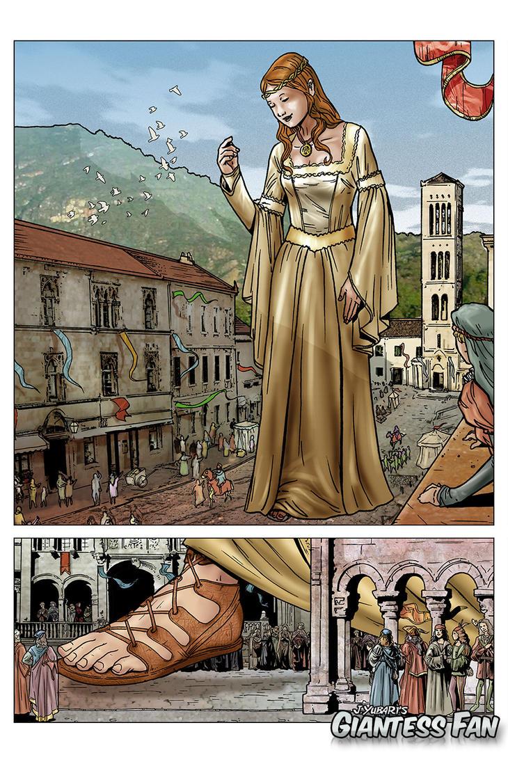 giantess cartoon