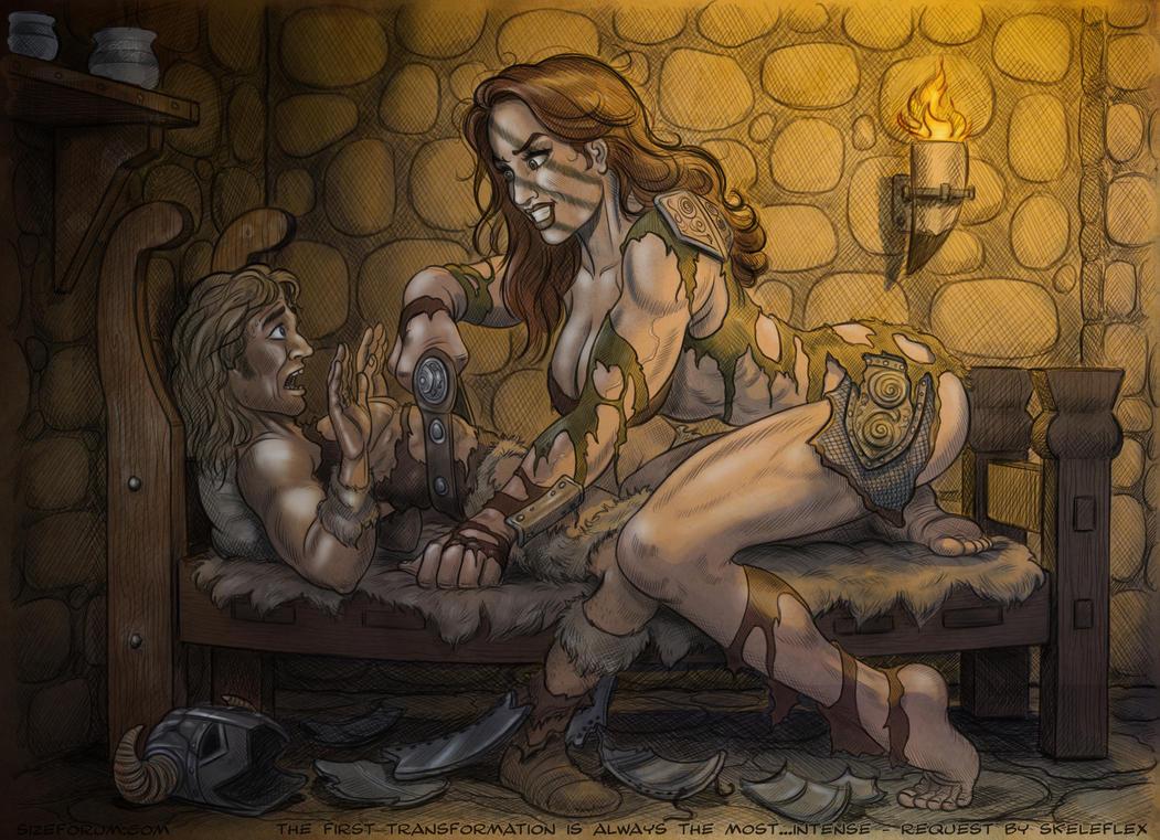 Naked skyrim giantess vor adult galleries