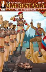 Army of Giantesses - Macrostania II by giantess-fan-comics